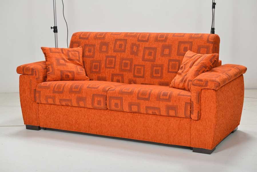 Galleria living divani letto manifatture italiane altamura bari - Divano arancione ...