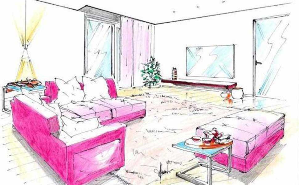 Progetto di salotto con divano letto angolare living divani letto manifatture italiane - Divano letto angolare divani e divani ...